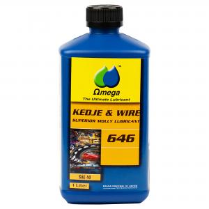 Omega 646 SAE 40 Kedjeolja och Wireolja 1L