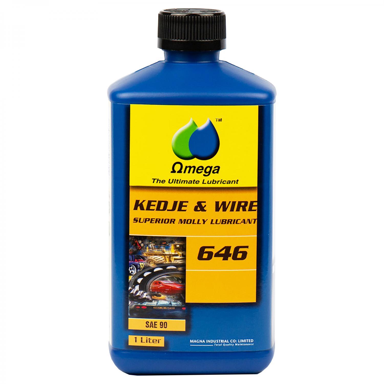 Omega 646 SAE 90 Kedjeolja och Wireolja 1L