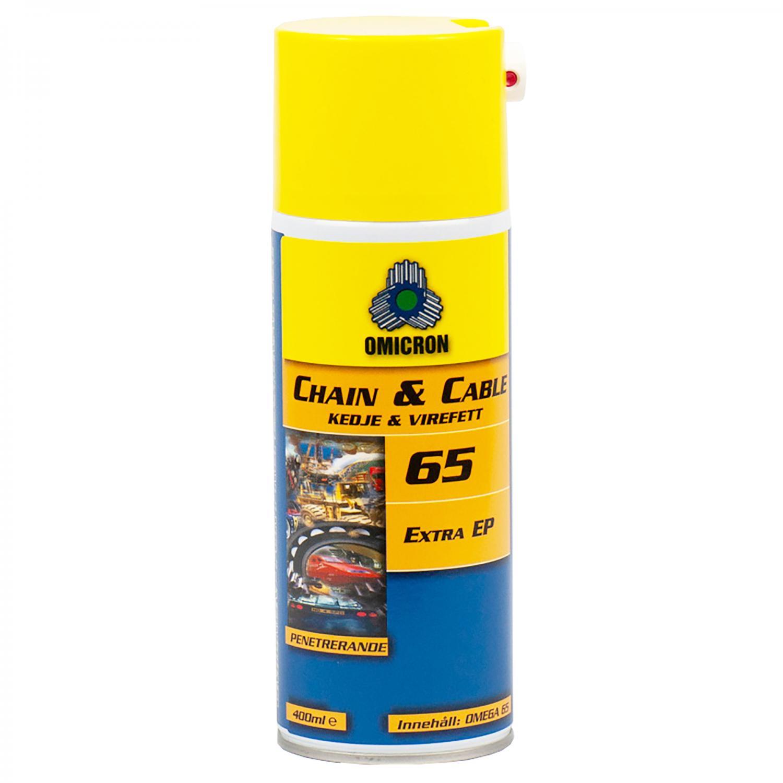 Omicron 65 Kedje- och Wirefett NLGI 00 / Spray 400ml