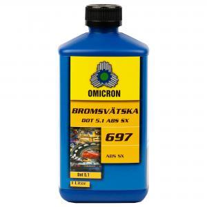 "Omicron 697 Bromsvätska DOT 5.1 ""ABS SX"" 1L"