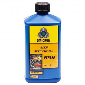 """Omicron 699 0W-20 ATF-olja """"J & C"""" 1L"""
