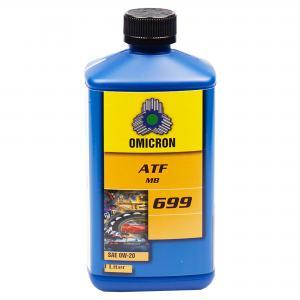 """Omicron 699 0W-20 ATF-Olja """"MB"""" 1L"""