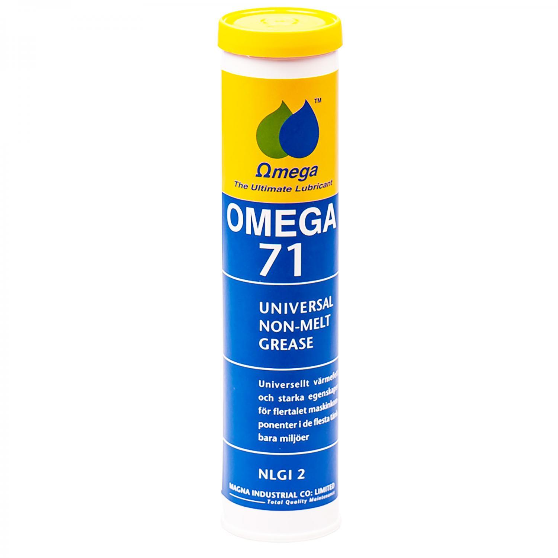 Omega 71 Universellt Högtemperaturfett NLGI 2 / Patron 400g