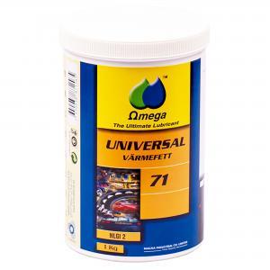 Omega 71 Universellt Högtemperaturfett NLGI 2 / 1kg