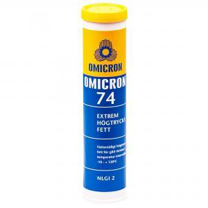 Omicron 74 Extremt Högtrycksfett NLGI 2 / Patron 400g
