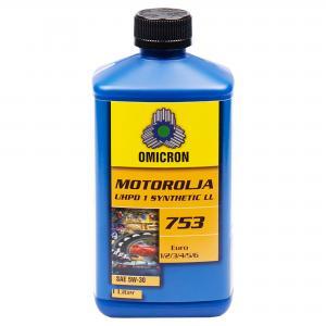 Omicron 753 5W-30 UHPD 1 Synthetic Motorolja 1L