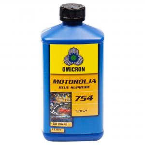 Omicron 754 10W-40 Blue Supreme Motorolja 1L