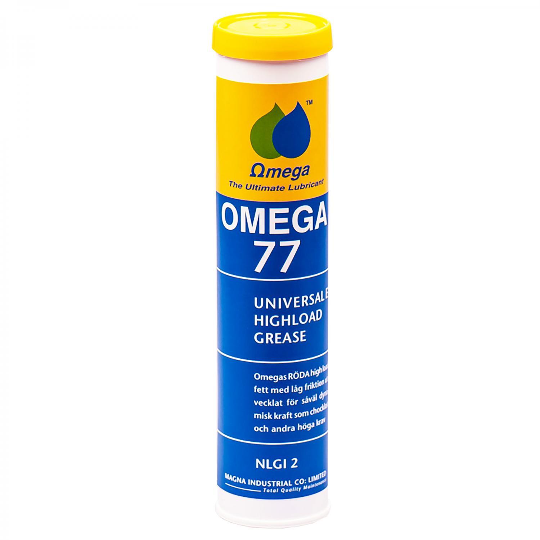 "Omega 77  Lager & Chassi ""The Red One"" NLGI 2 Fett 400g Patron"