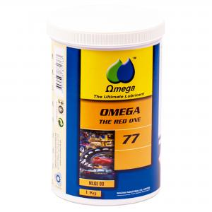 """Omega 77  Lager & Chassi """"The Red One"""" NLGI 00 Fett 1kg"""