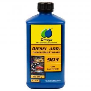 """Omega 903 Dieselförbättrare """"Bakteridödaren"""" 1Liter"""