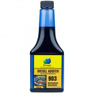 """Omega 903 Dieselförbättrare """"Bakteriedödaren"""" 250ml"""