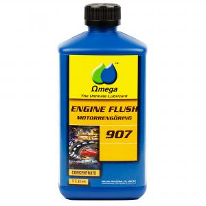 Omega 907 Rengöringsolja vid oljebyte 1Liter
