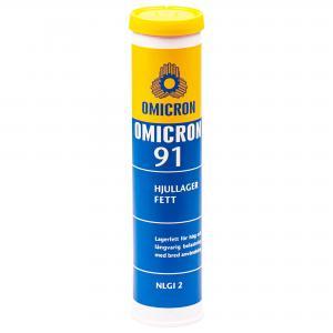 Omicron 91 Hjullagerfett NLGI2 / Patron 400g