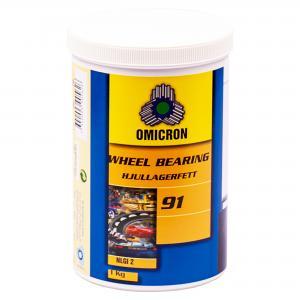 Omicron 91 Hjullagerfett NLGI2 / 1kg