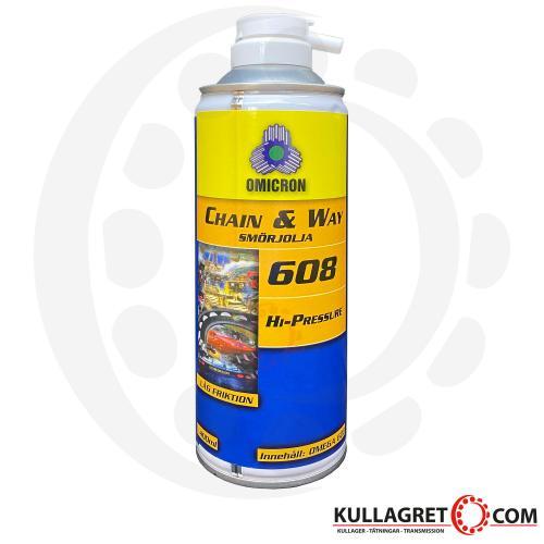 Omega 608 Smörjolja 400ml
