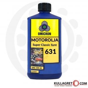 Omicron 631 5W-40 Motorolja Super Classic Synt 1L