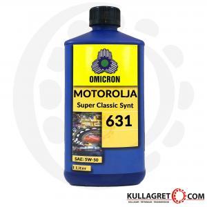 Omicron 631 5W-50 Super Classic Motorolja 1L