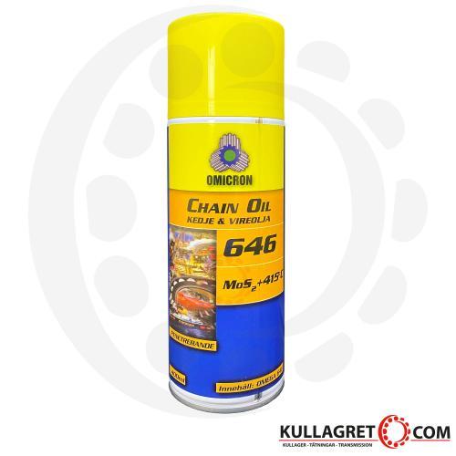 OMEGA 646 Kedje & Vire Olja 400ml