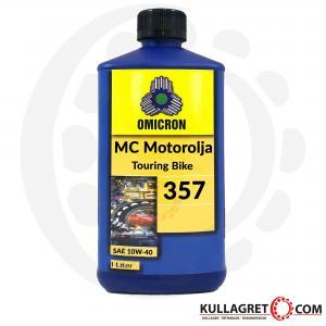 """Omicron 357 SAE 10W-40 4T- MC Motorolja """"Touring bike"""" 1L"""