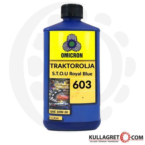 Omicron 603 10W-30 Universal Traktorolja 1L