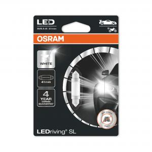 Festoon 41mm LED White 6000K 12V OSRAM