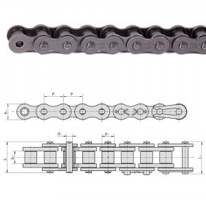 "3/8"" (06A-1) ANSI 35 Simplex Rullkedja | 5 meter"