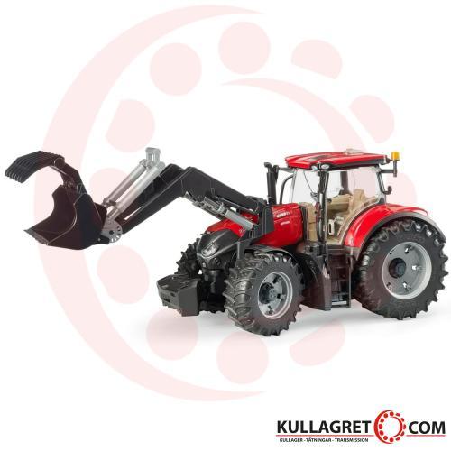 Case Traktor IH Optum 300 CVX med frontlastare | Bruder 1:16
