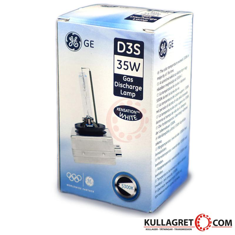 D3S Xenonlampa Xensation White 5500K +20% | General Electric