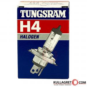 H4 75/70W 24V P43t-38 Halogenlampa | GE (Tungsram)