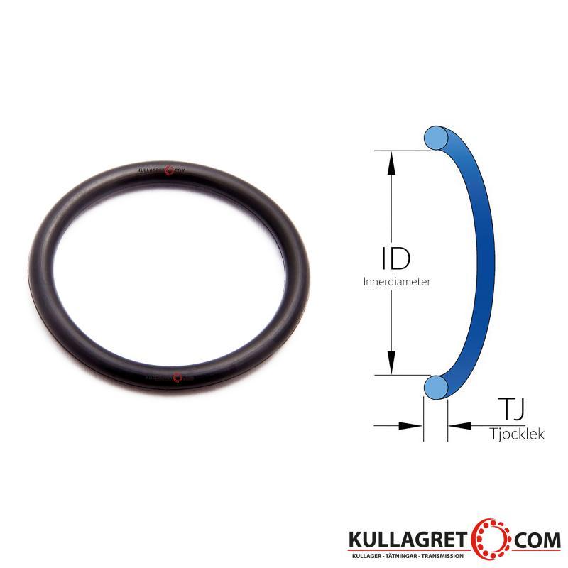 4,0x1,0 O-ring EPDM