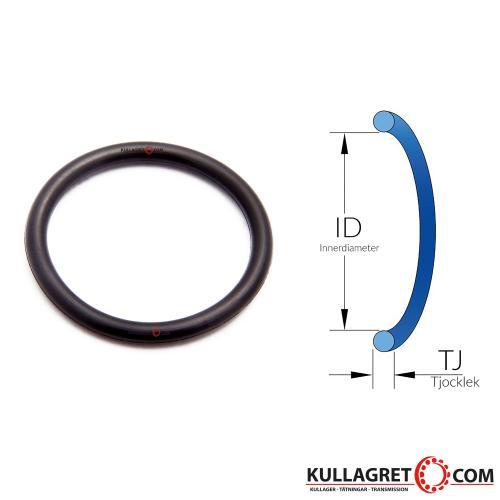 8x3,0 O-ring NBR 70