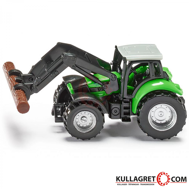 Deutz Traktor med gripklo   Siku 1:87