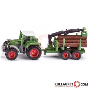 Fendt traktor med skogsvagn | Siku 1:87