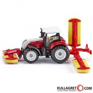 Steyer traktor med klippaggregat | SIKU 1:87
