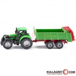 Deutz traktor med gödselspridare | Siku 1:87