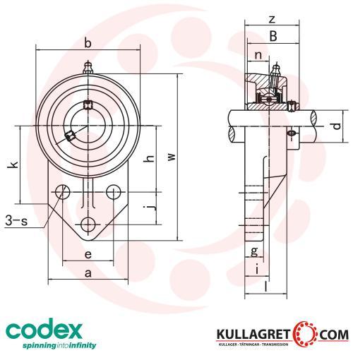 UCFB 207 Lagerenhet CODEX