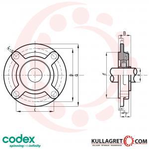 UCFC 206 Lagerenhet CODEX / KBS
