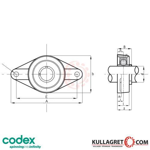 UCFL 207 Lagerenhet CODEX