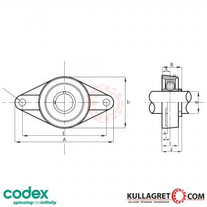 UCFL 201 Lagerenhet CODEX