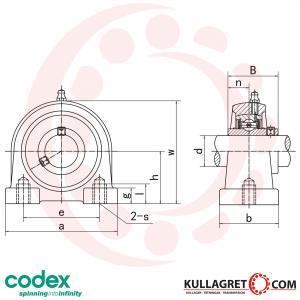UCPA 209 Lagerenhet CODEX