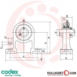 UCPH 205 Lagerenhet CODEX