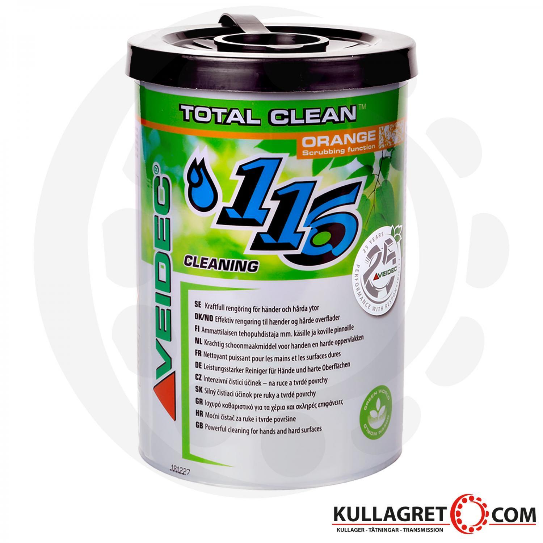 Veidec 116 Total Clean Orange 90st