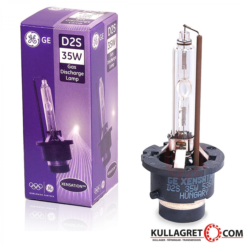 D2S Xenonlampa Xensation | General Electric