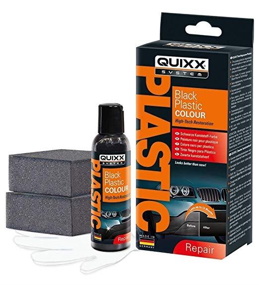 Quixx Black Plastic Colour