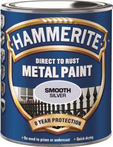 Silver Slätlack Hammerite 250ml