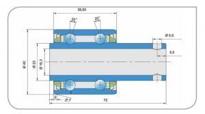 SL2 5203-2T Lantbrukslager