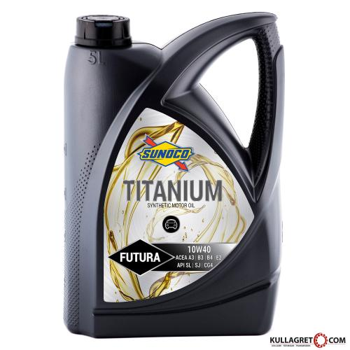 SUNOCO 10W-40 Titanium FUTURA Motorolja 5L