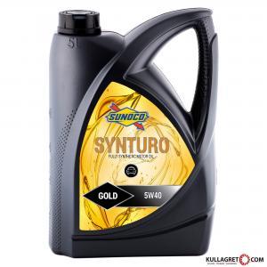 Sunoco 5w-40 Synturo Gold Motorolja 5L
