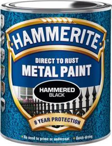 Svart Hammrad Hammerite 250ml