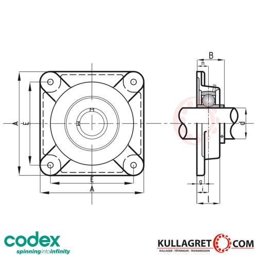 UCF 207-22 Lagerenhet CODEX